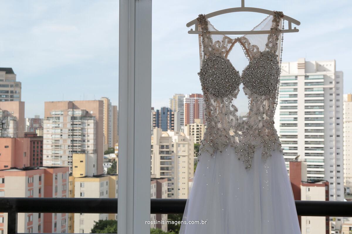 vestido de noiva em são paulo fotografia por rossins imagens