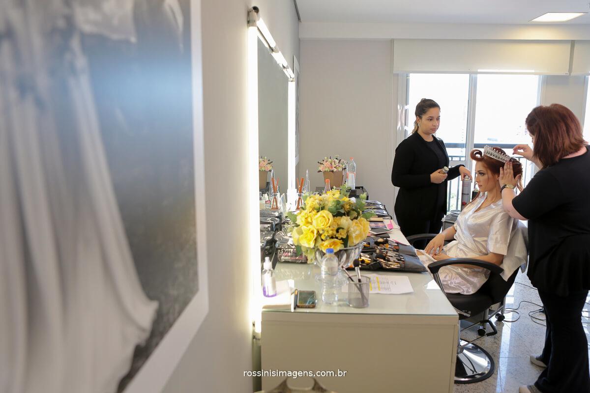 make up e hair stylist sandra costa e a noiva liliane, o grande dia
