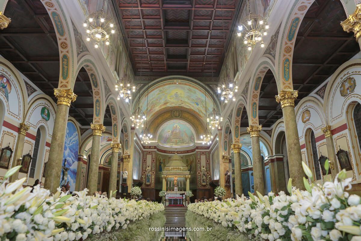 fotografia de casamento em igreja em são paulo rossinis imagens, Igreja São José do Ipiranga SP