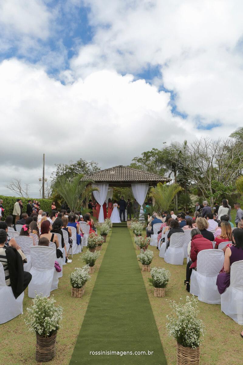 fotografia da cerimonia de casamento religiosa de jamille e luiz fernando em sao paulo rossinis imagens