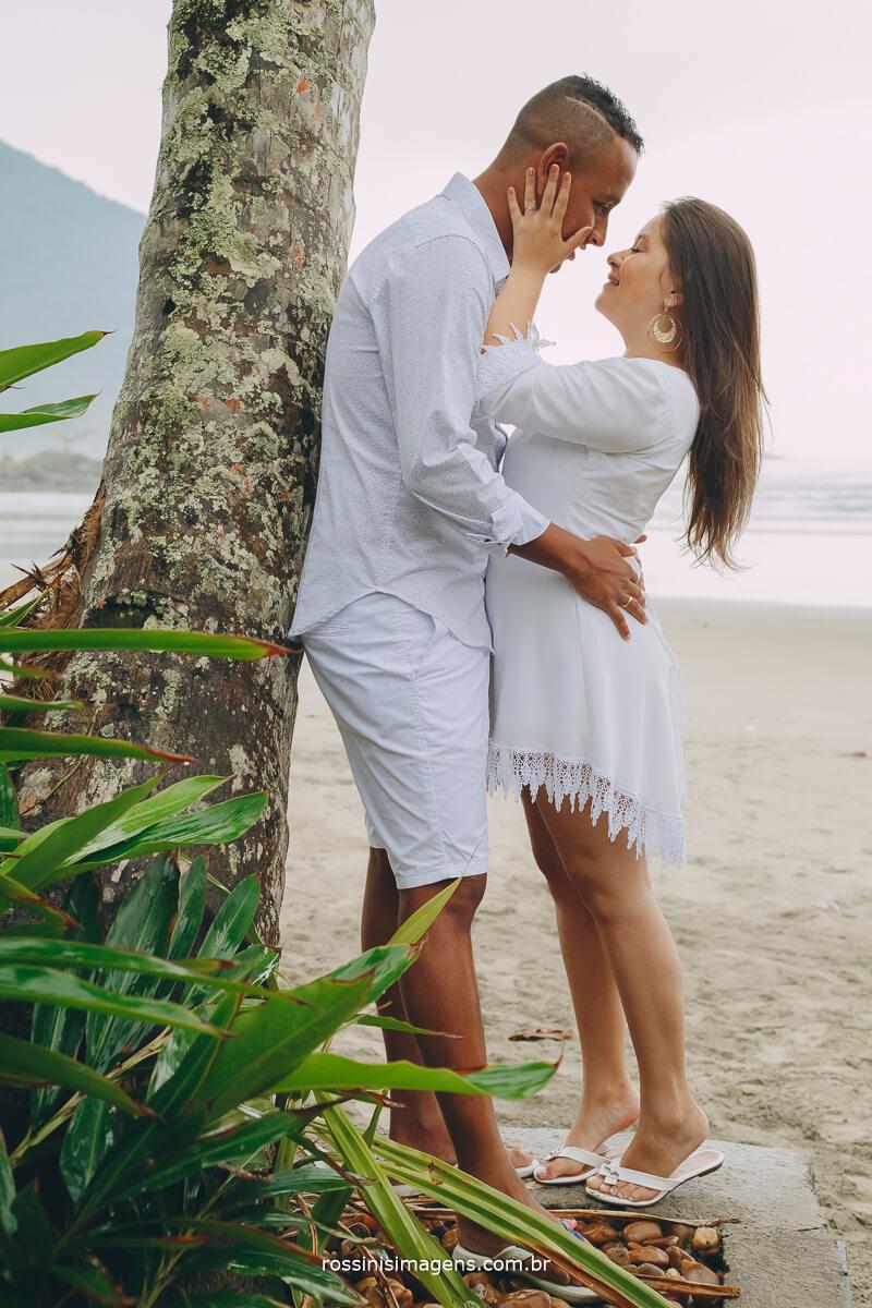 ensaio de casal no litoral de sao paulo