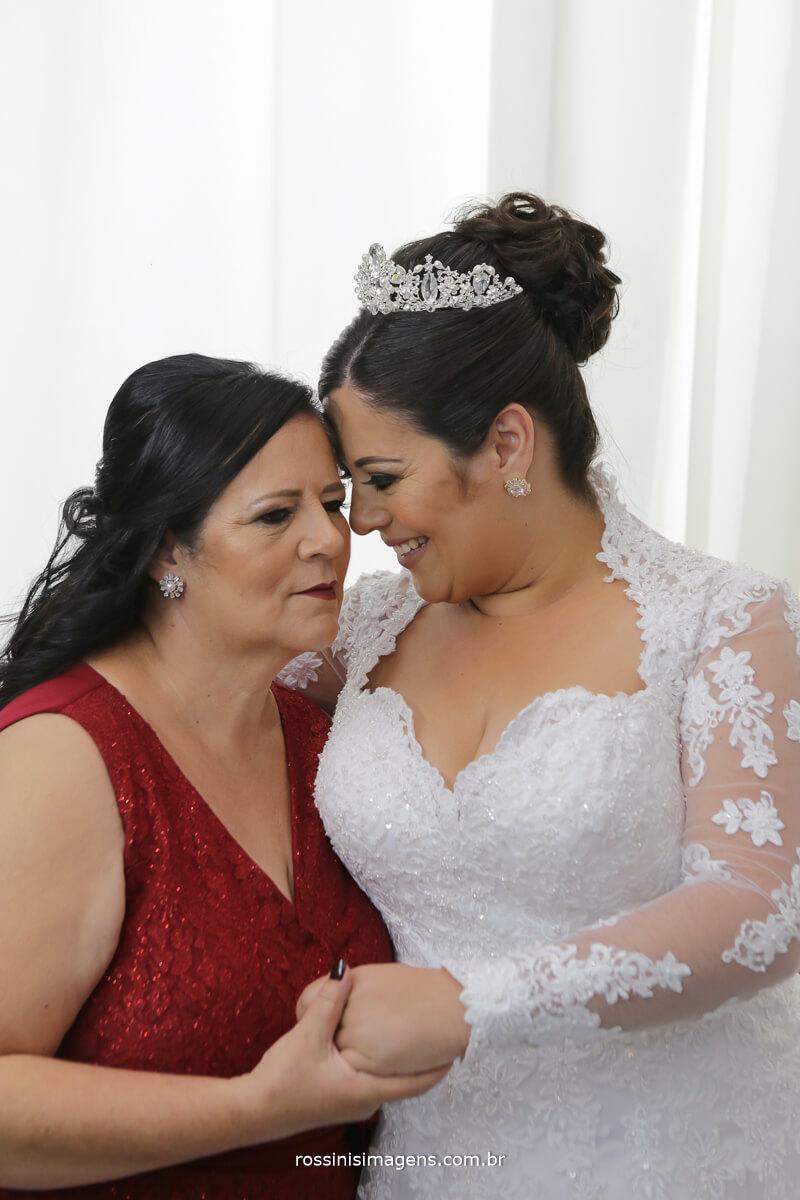 mae e filha a noiva em seu grande dia, wedding day camila e ramon