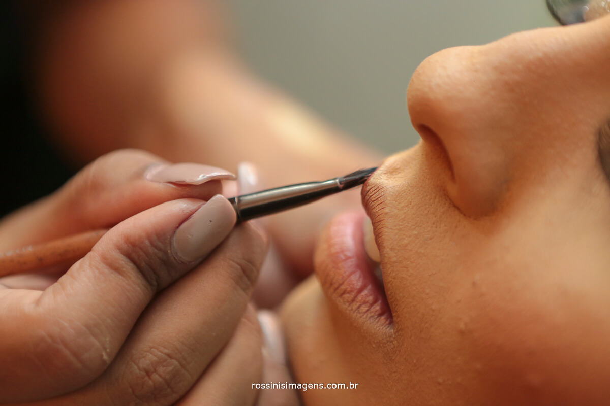 maquiagem da noiva, make up da noiva, passando batom