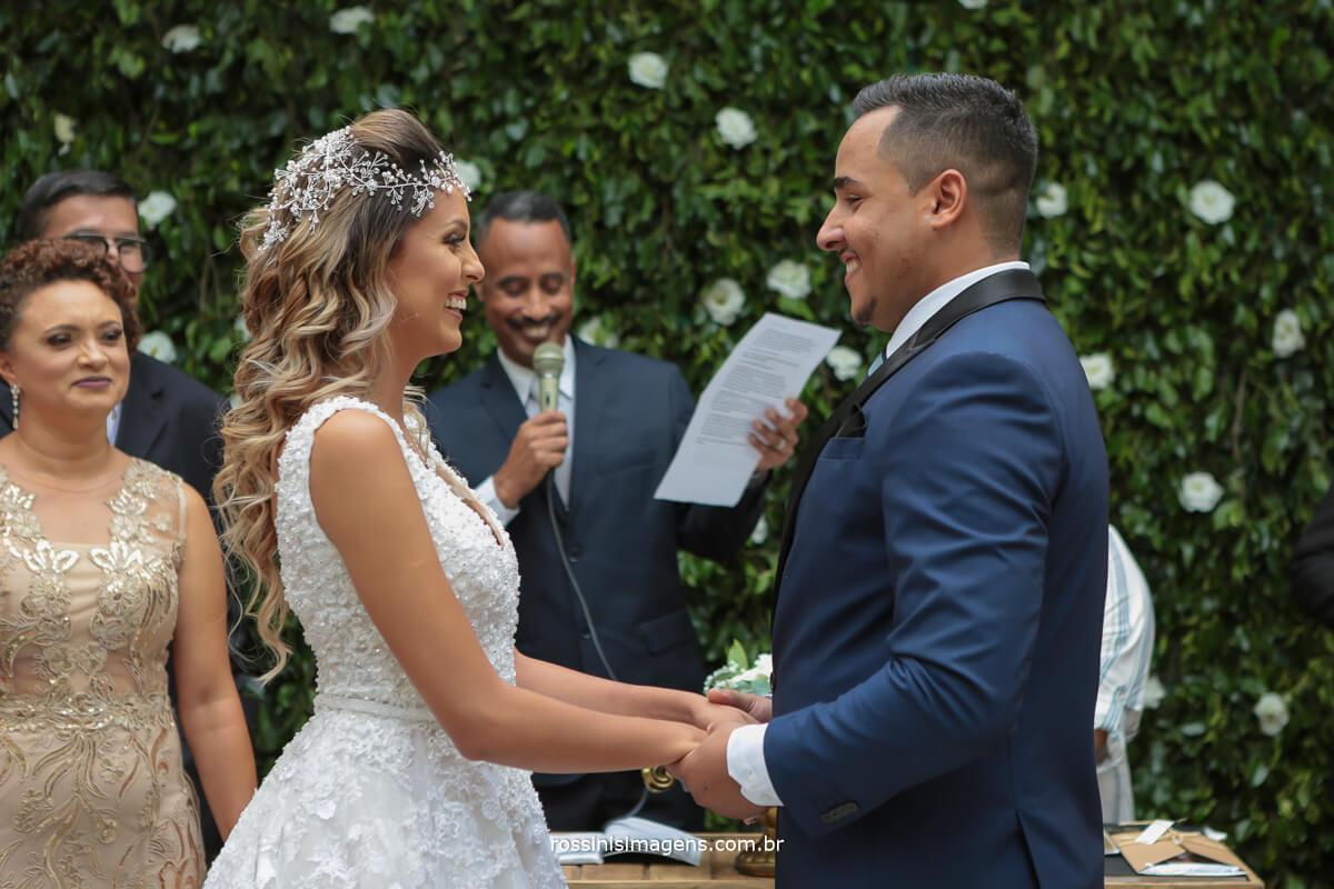 momento intimo do casal os votos do casamento, parte da historia