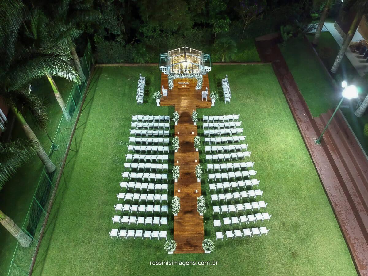 fotografia aerea de espaço para casamento chacara torres em poa decoração neide decorações, casamento thamiris e amauri por rossinis imagens
