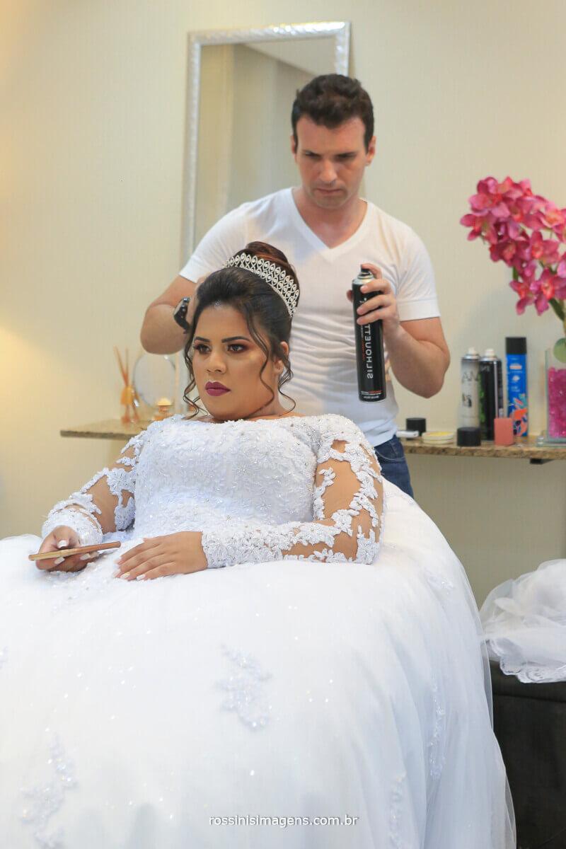 penteado de noiva, penteado para noiva salão leandro fernandes