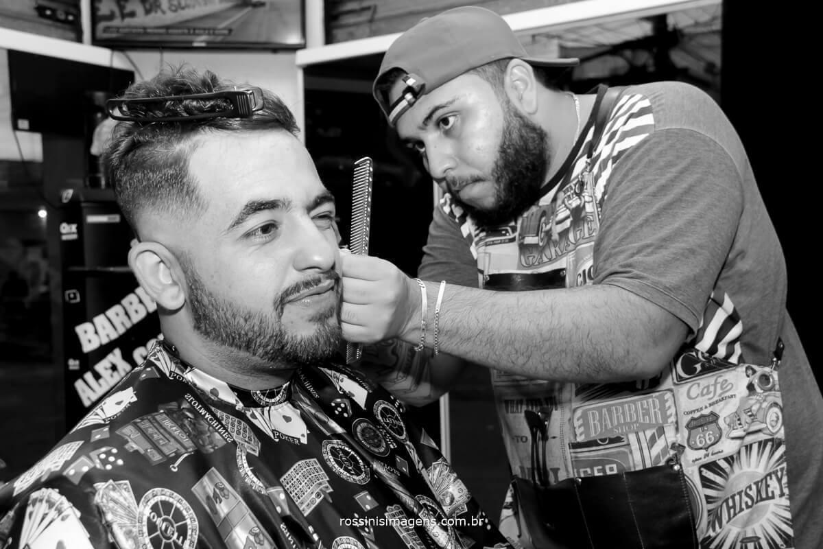 noivo na barbearia, barbearia do Alex cortes oficial Noivo Amauri