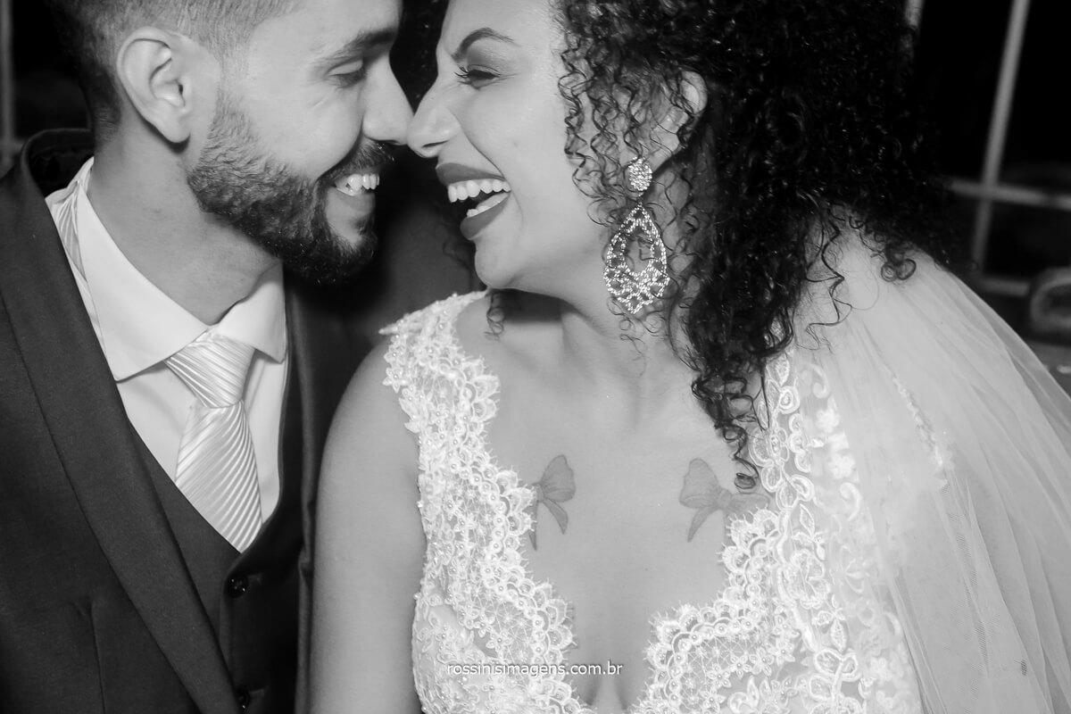 amor resume a alegria de estarem juntos realizando esse grande sonho
