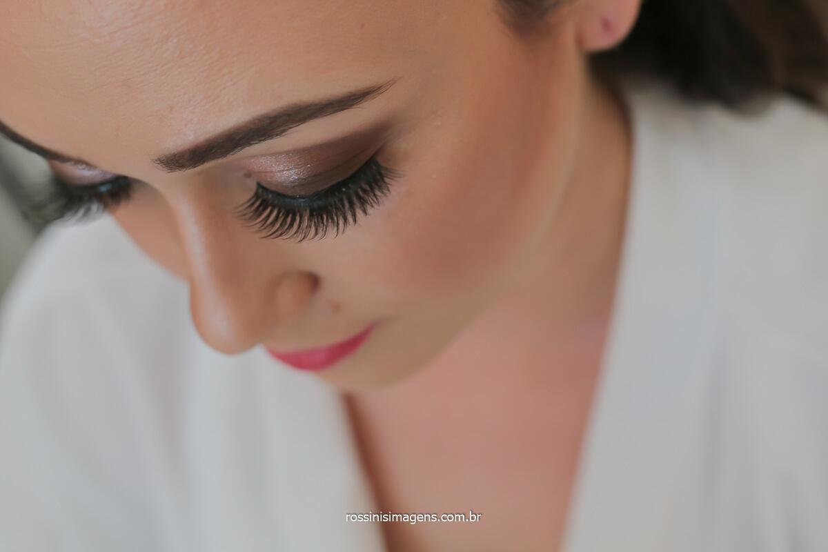 maquiagem de noiva cílios longos, cílios longos para noiva, salão Marina Camargo mogi