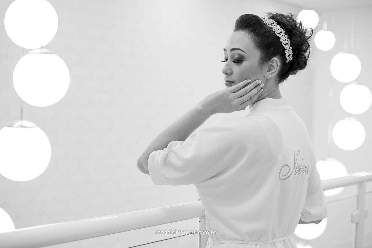 bride, noiva no making of, dia da noiva em mogi, salão Marina Camargo