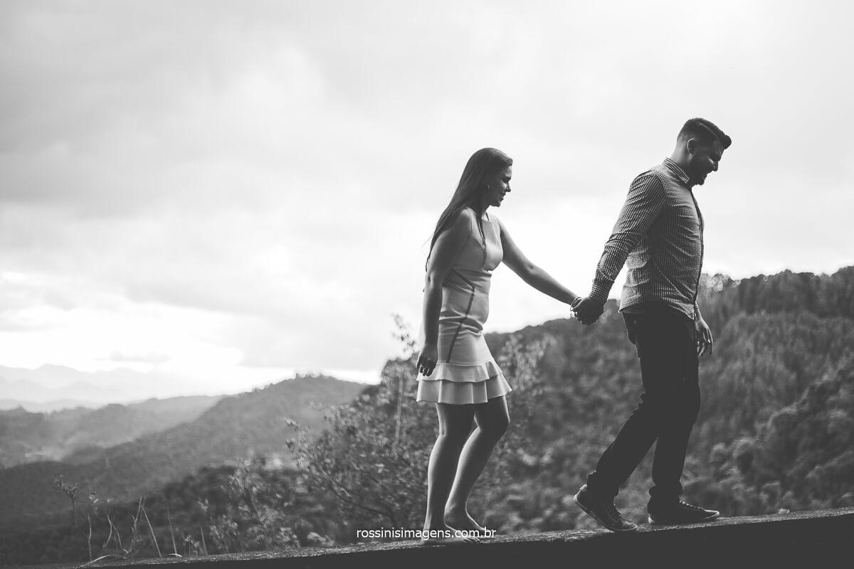 casal subindo a montanha, serra do mirante do lajeado, @RossinisImagens