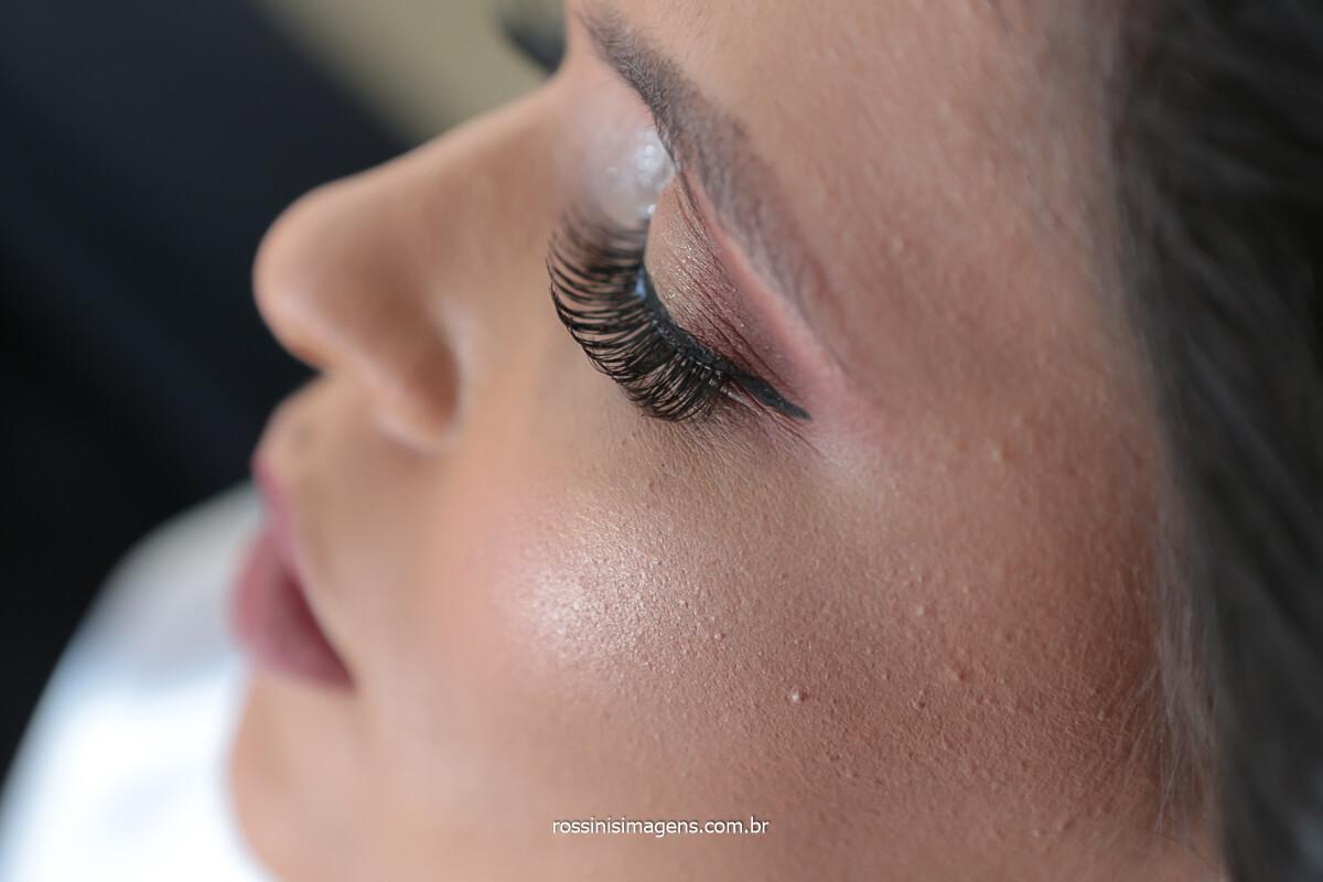make up da noiva priscila no salão bella donna poa, @RossinisImagens