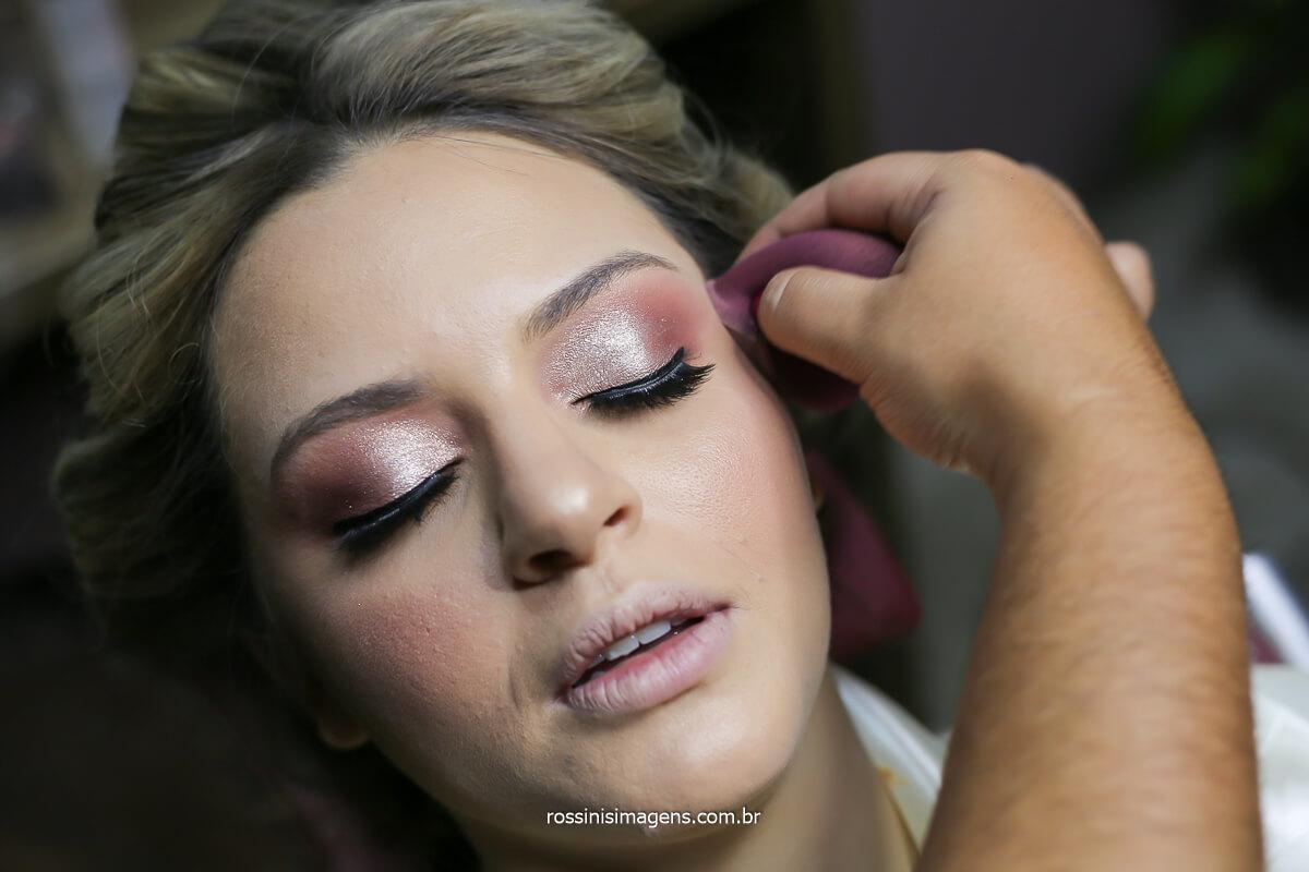 maquiagem make up aline christina hair, dia da noiva, maquiagem poderosa para o casamento, make up top, @RossinisImagens
