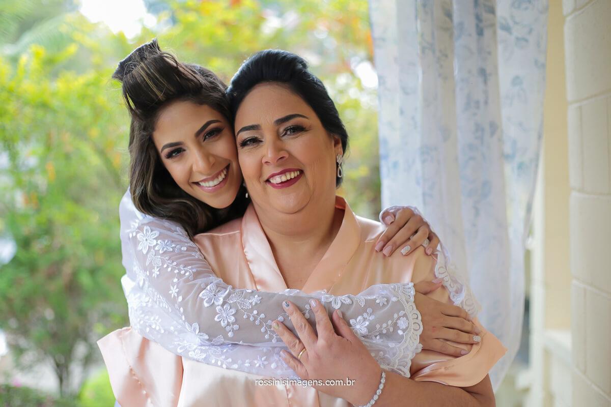 espaço balboa com a noiva e a mãe na sala de beleza, toda a preparação do grande dia, @RossinisImagens