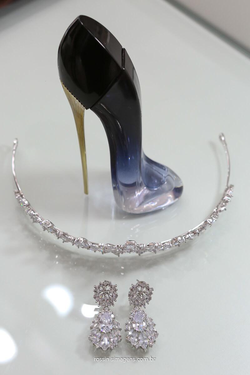 perfume good girl Carroline Herrera, perfume de noiva, parfum, tiara de cristais, @RossinisImagens