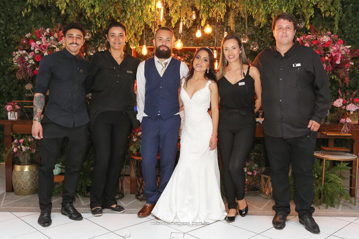 fotografia dos noivos com a equipe de assessoria, assessoria de casamento, fotografia por rossinis imagens, @RossinisImagens
