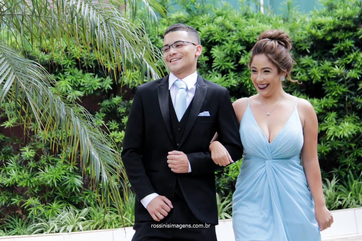 entrada de padrinho irmã do noivo, fotografia de padrinhos no casamento irmã do noivo, @RossinisImagens