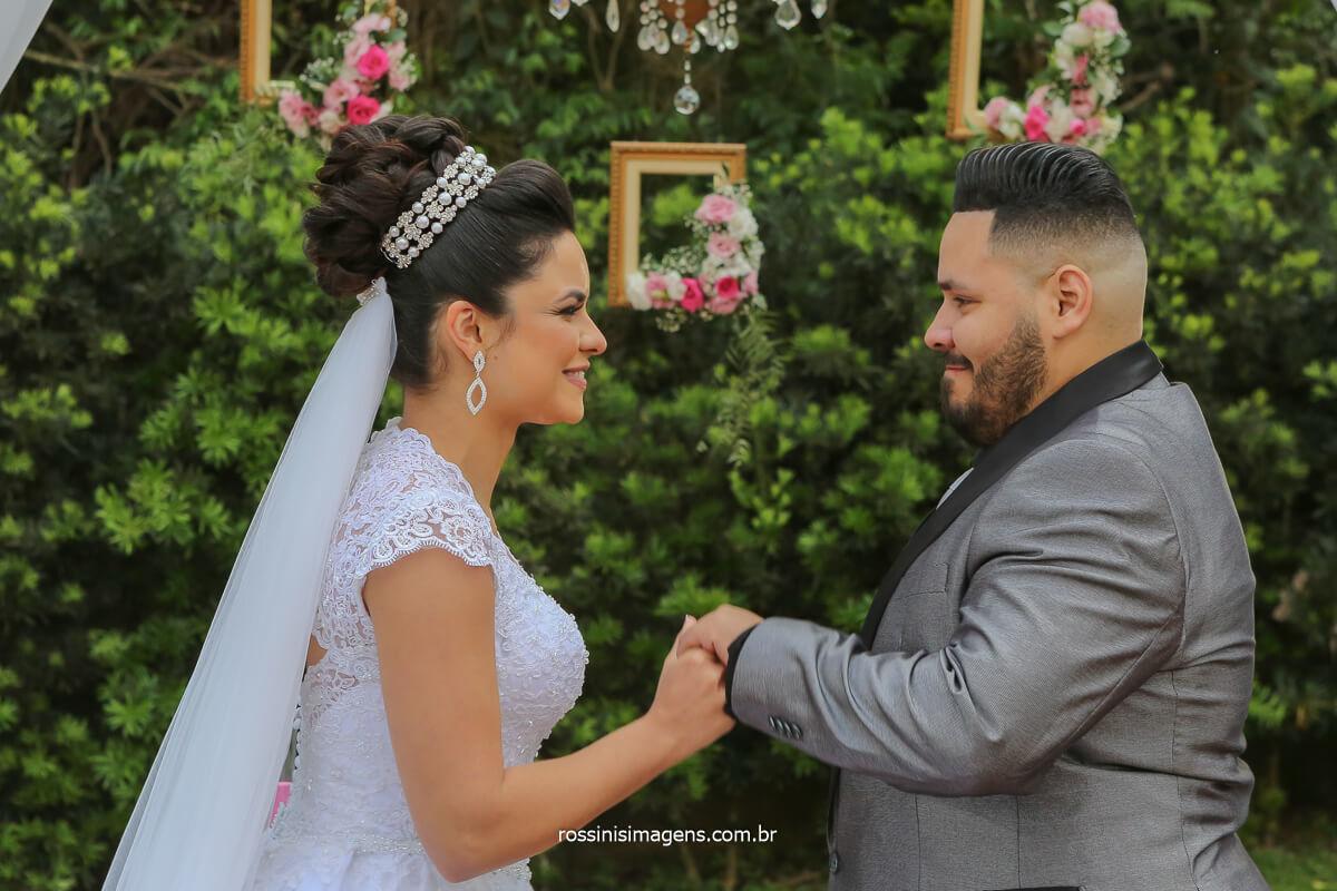 votos do casal Erica e Rodrigo para a vida de casal que terão daqui em diante