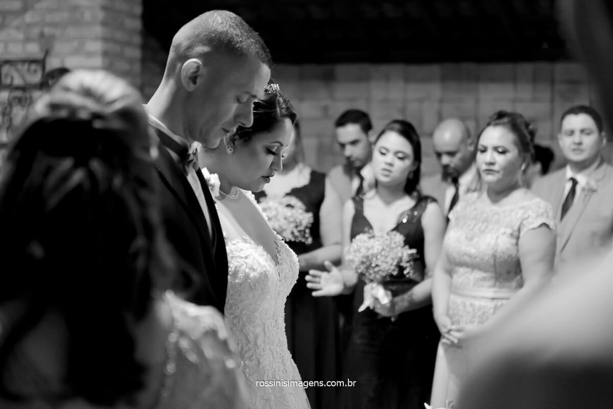 momento de oração reflexão enlace matrimonial de Amanda e Wellington, @RossinisImagens