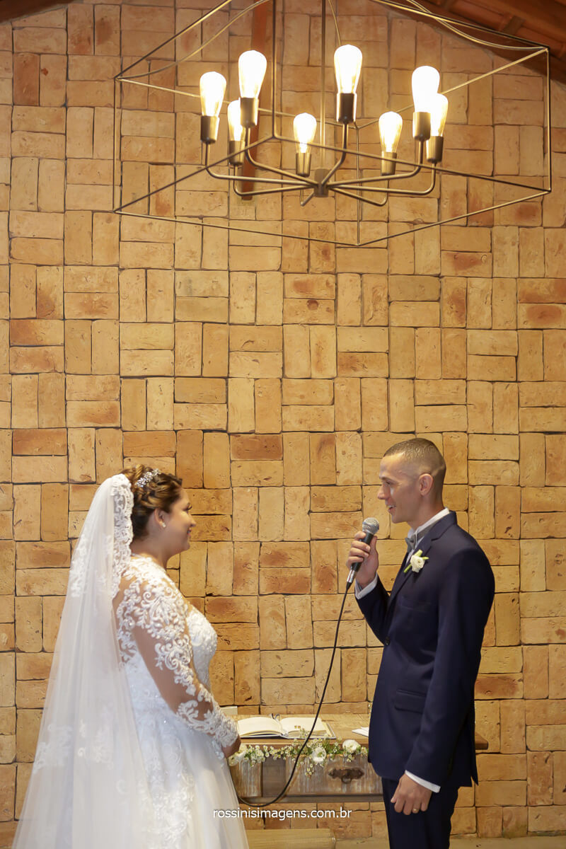 voto do noivo para a noiva, momento de ler os votos de uma vida a dois, @RossinisImagens
