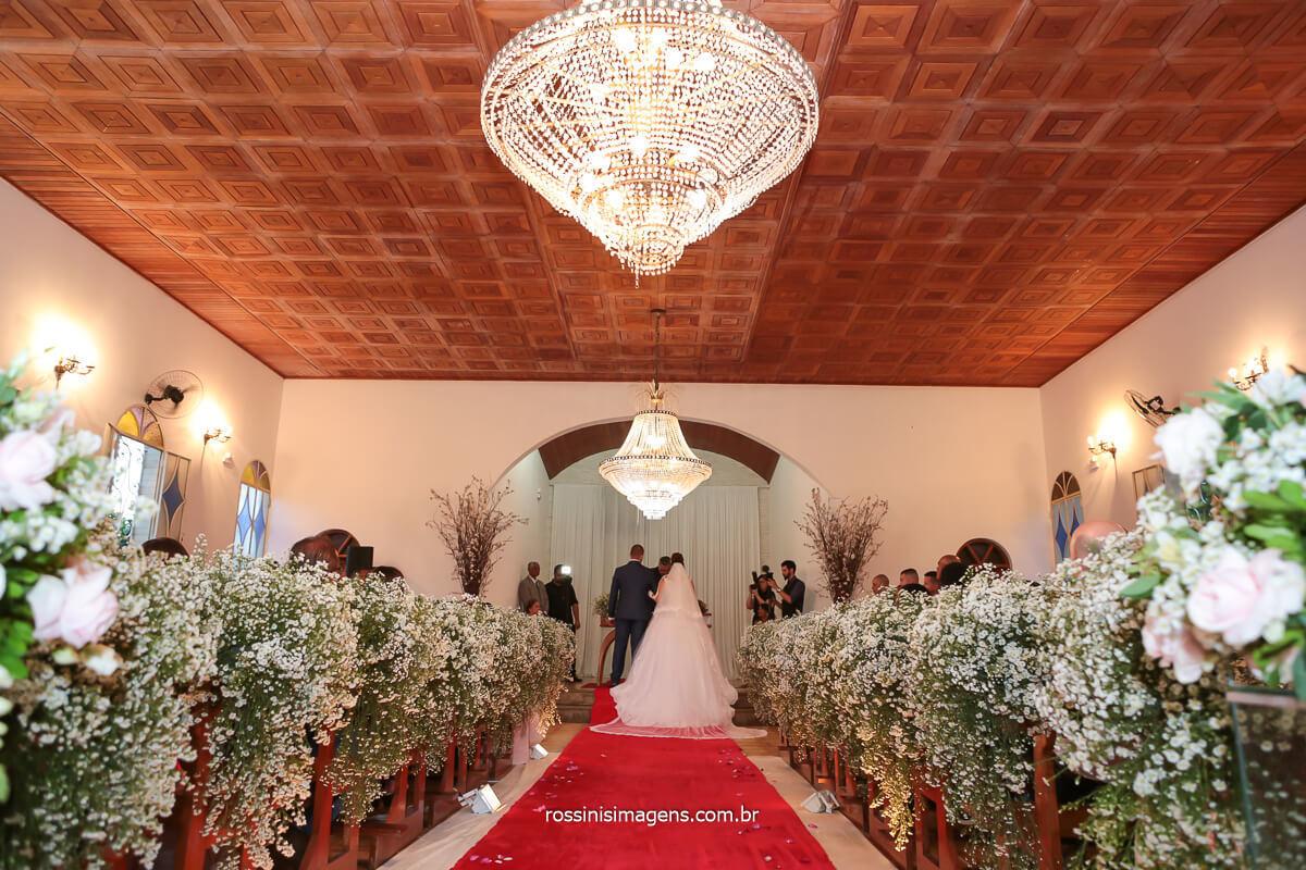 poa fotografo de casamento noivos no altar la capella lindo espaço para eventos, @RossinisImagens