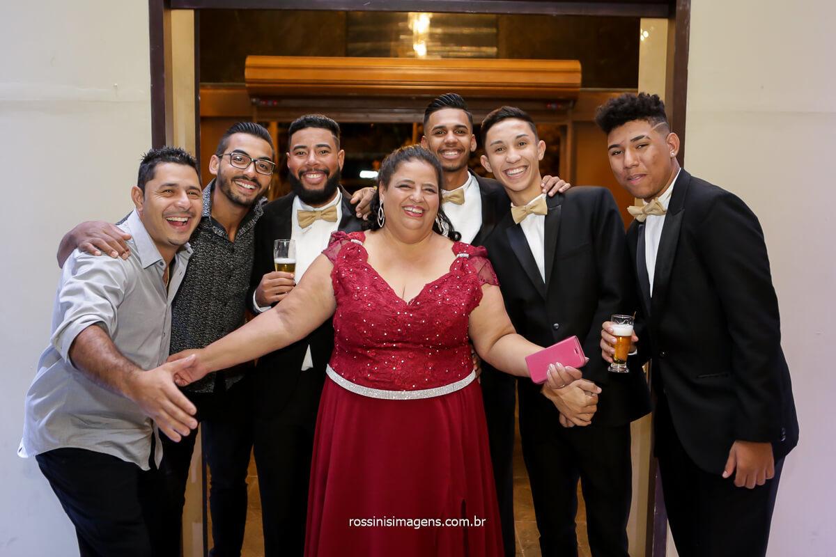 Fotografia dos amigos da família,  Festa de quinze anos