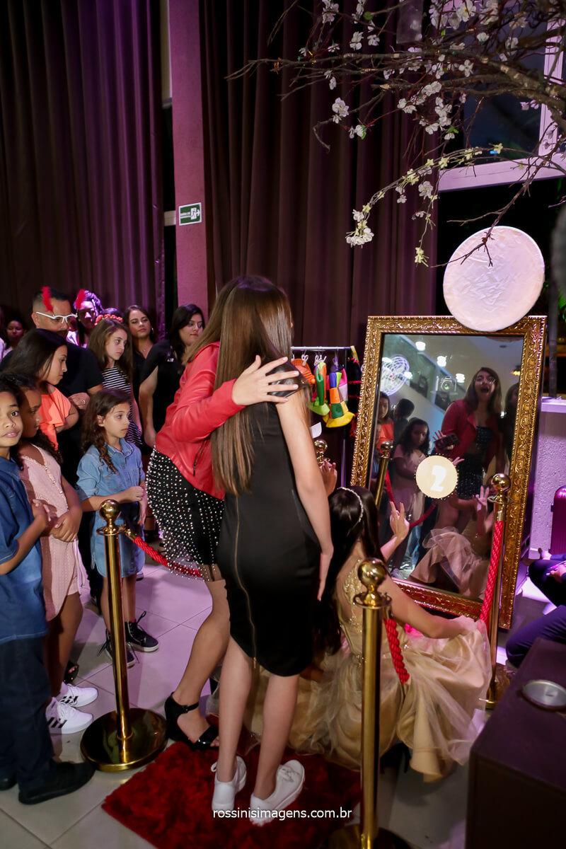 Entretenimento com o Espelho magico Foto Lembrança!