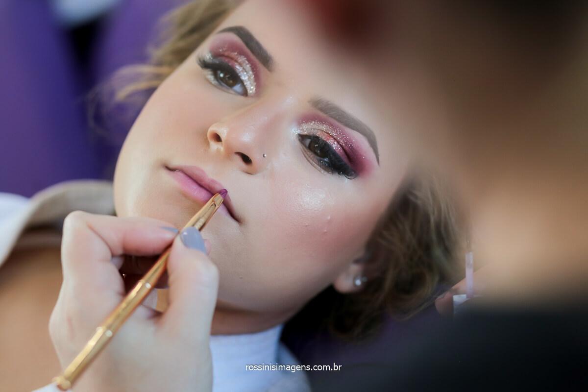 Making of da debutante jeniller no salão de beleza da sheila mars em itaquera