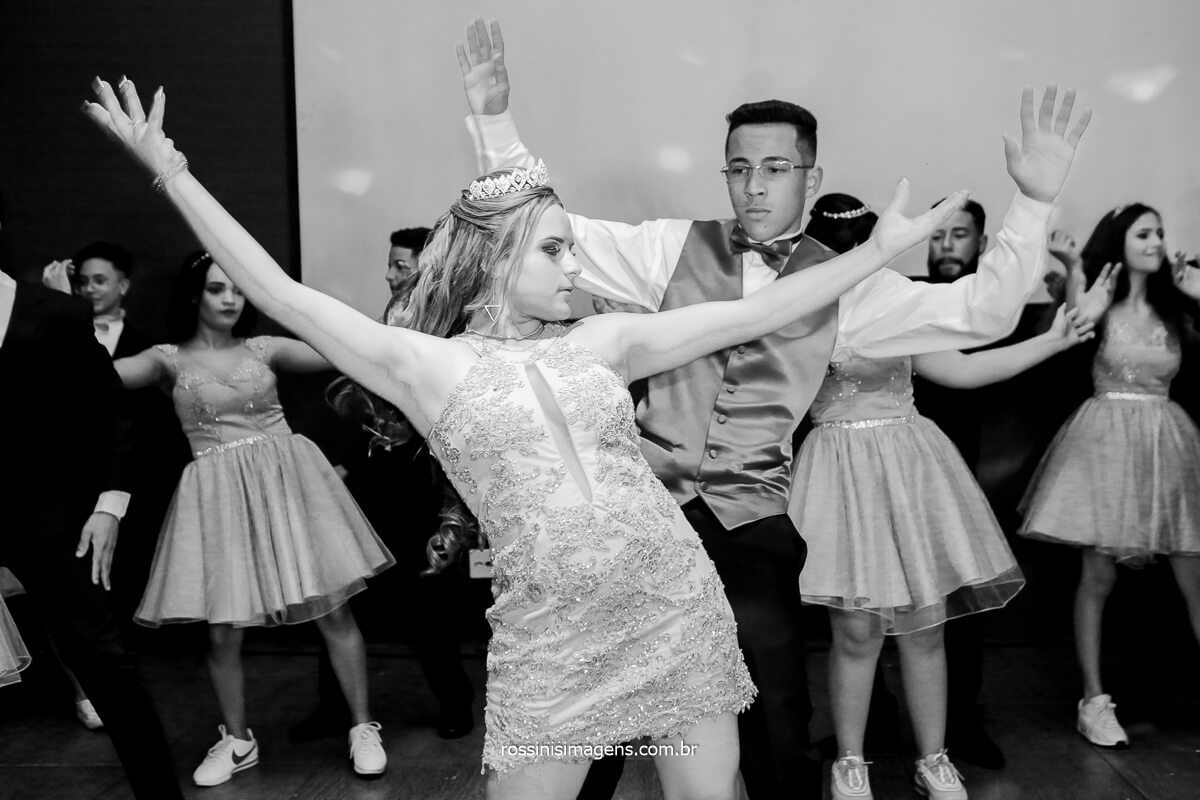 Coreografia da Danca da Debutante, Festa de 15 Anos, 15 da Jeni