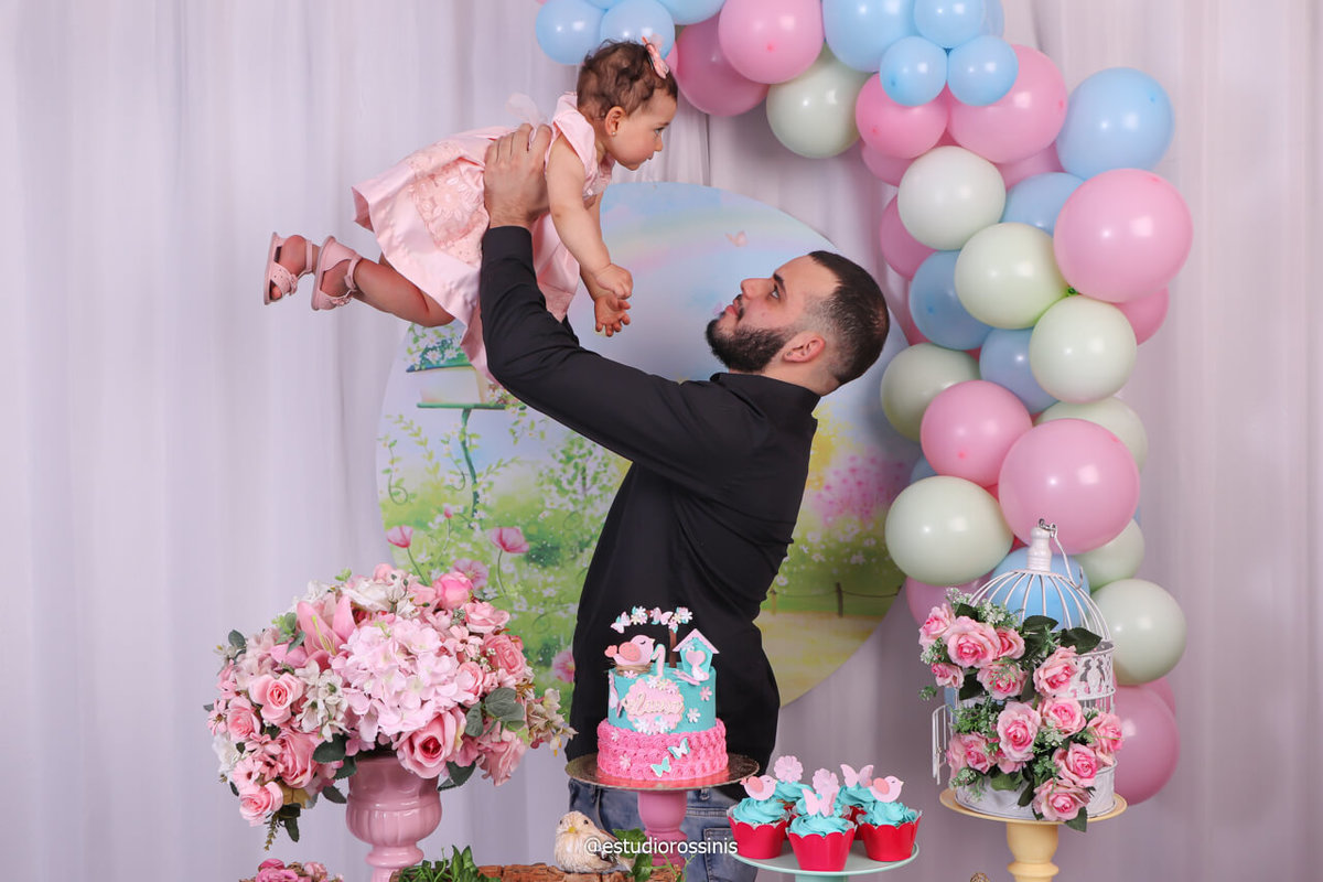 festa de aniversário, pai de menina faz festa de aniversario em estudio e ideia viralizou na internet, voce já pensou em fazer a festa do seu filho no estudio, @estudiorossinis