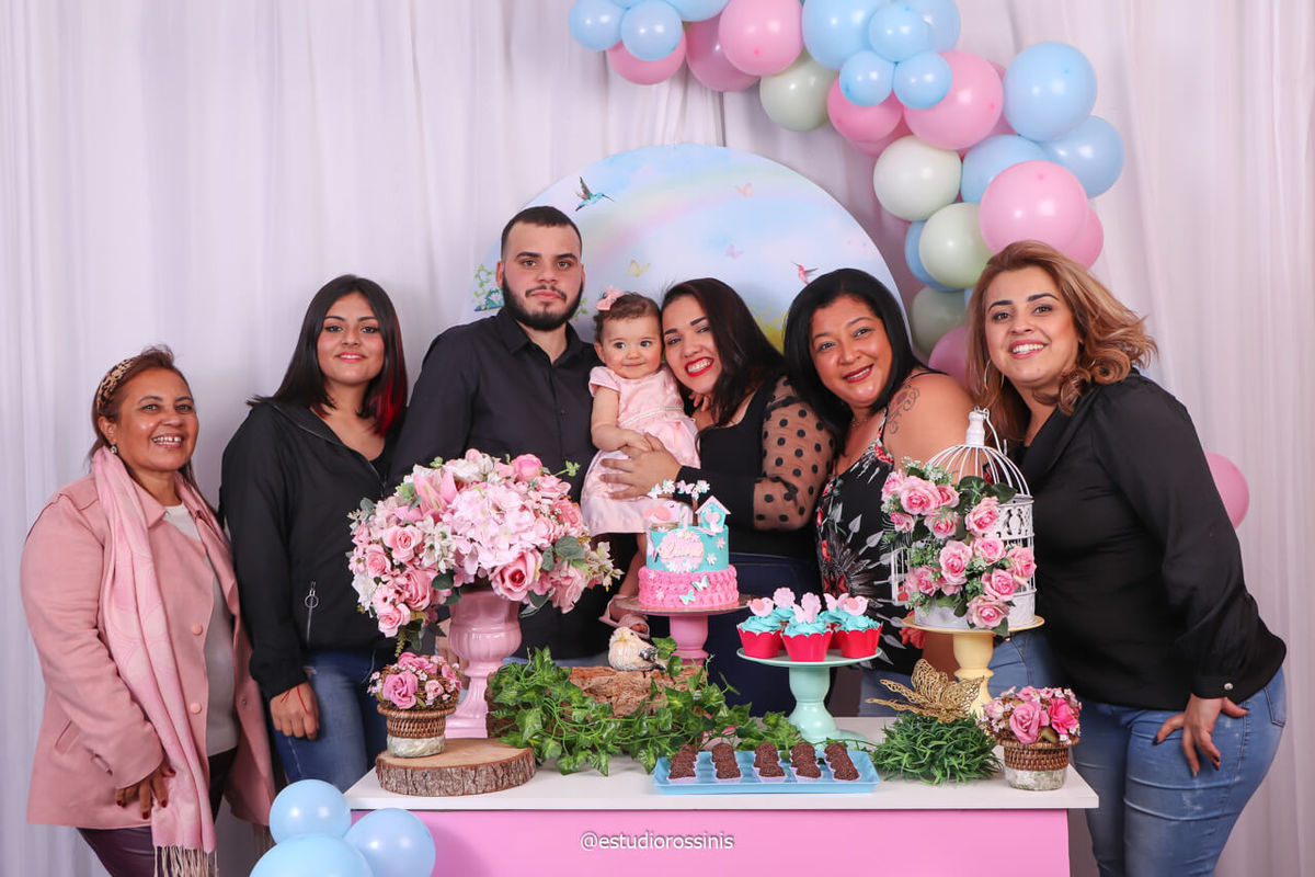 fotografia da família toda na festa no estúdio fotográfico, @estudiorossinis