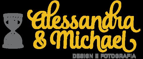 Logotipo de Alessandra e Michael