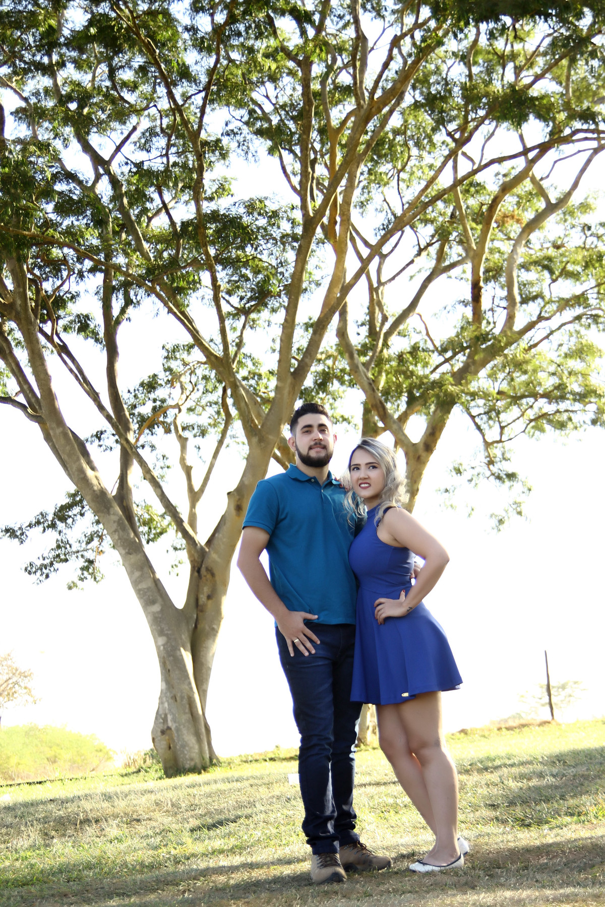 Foto de Amanda e André