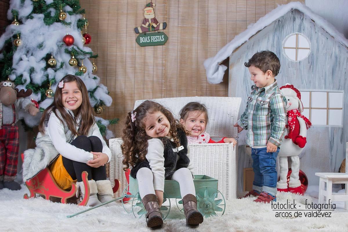 Imagem capa - Sessão fotográfica temática de Natal! por Fotoclick: Fotógrafo de Casamentos | Eventos | Estúdio