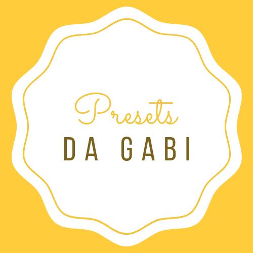 Imagem capa - Presets da Gabi por GABRIELA BORGES FOTOGRAFIAS