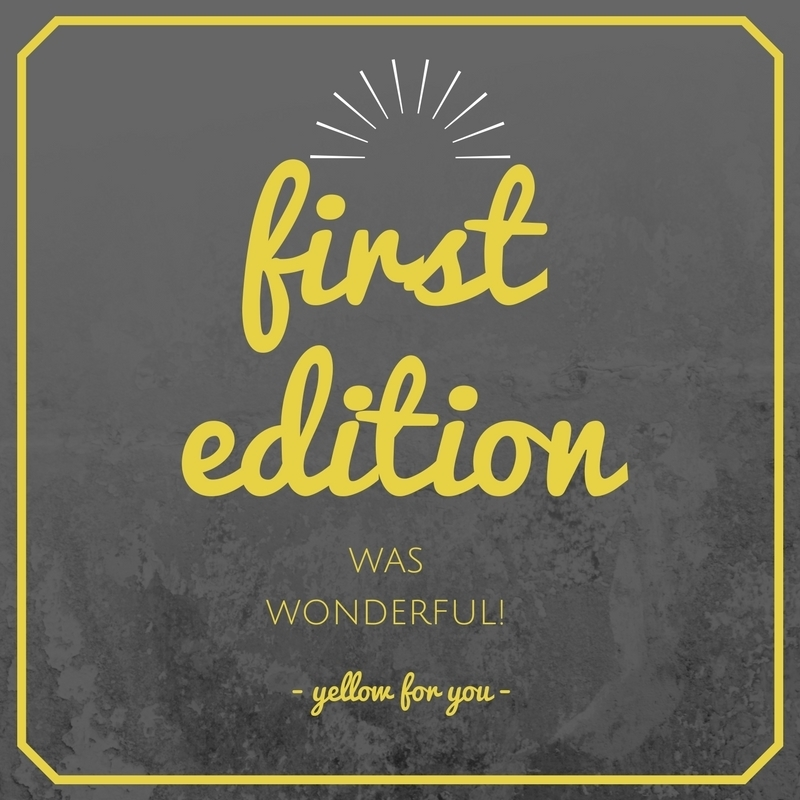 Imagem capa - First Edition was wonderful!  por yellow for you