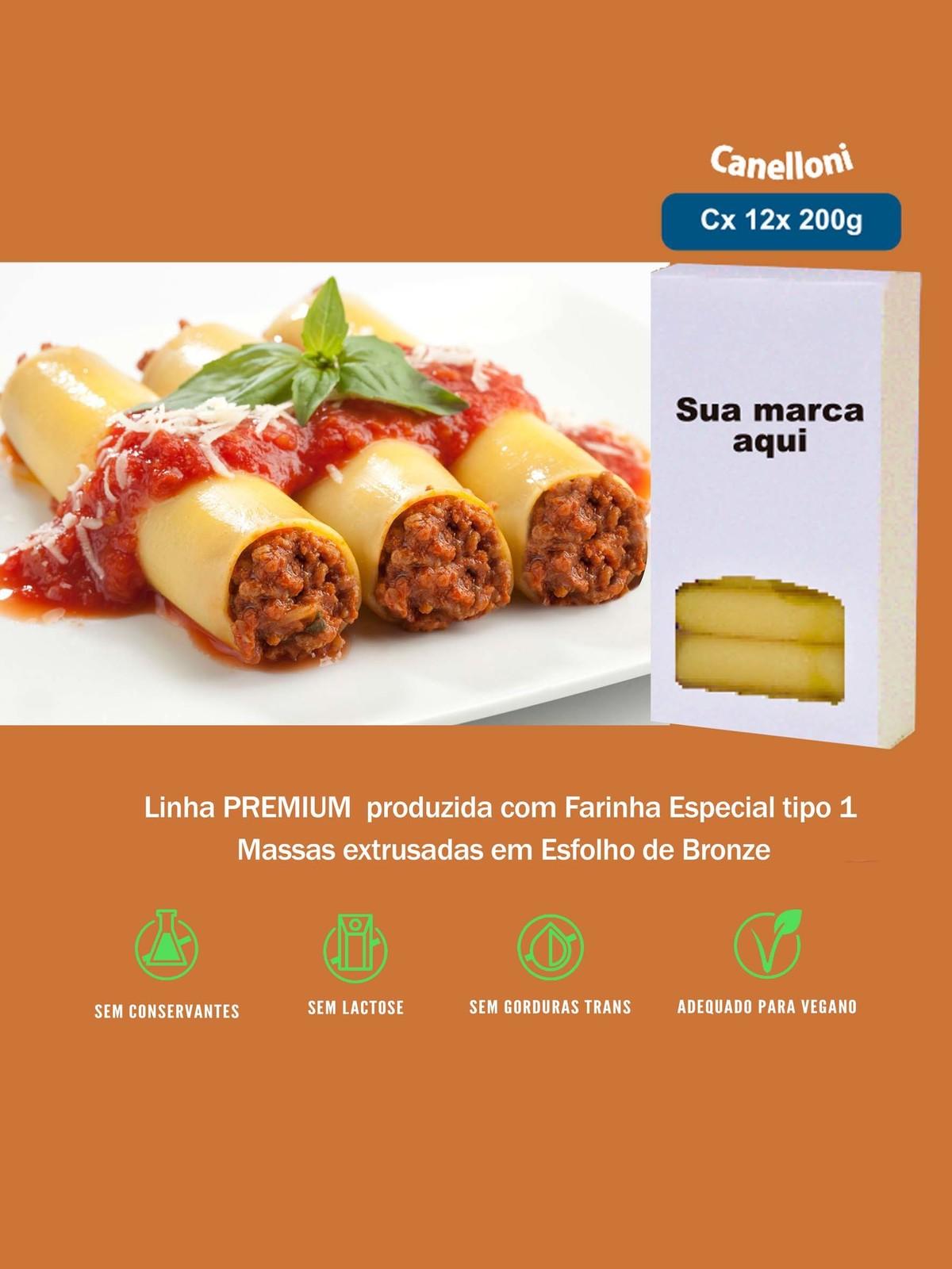 Imagem capa - Canelloni Linha Premium por pastificiofasson
