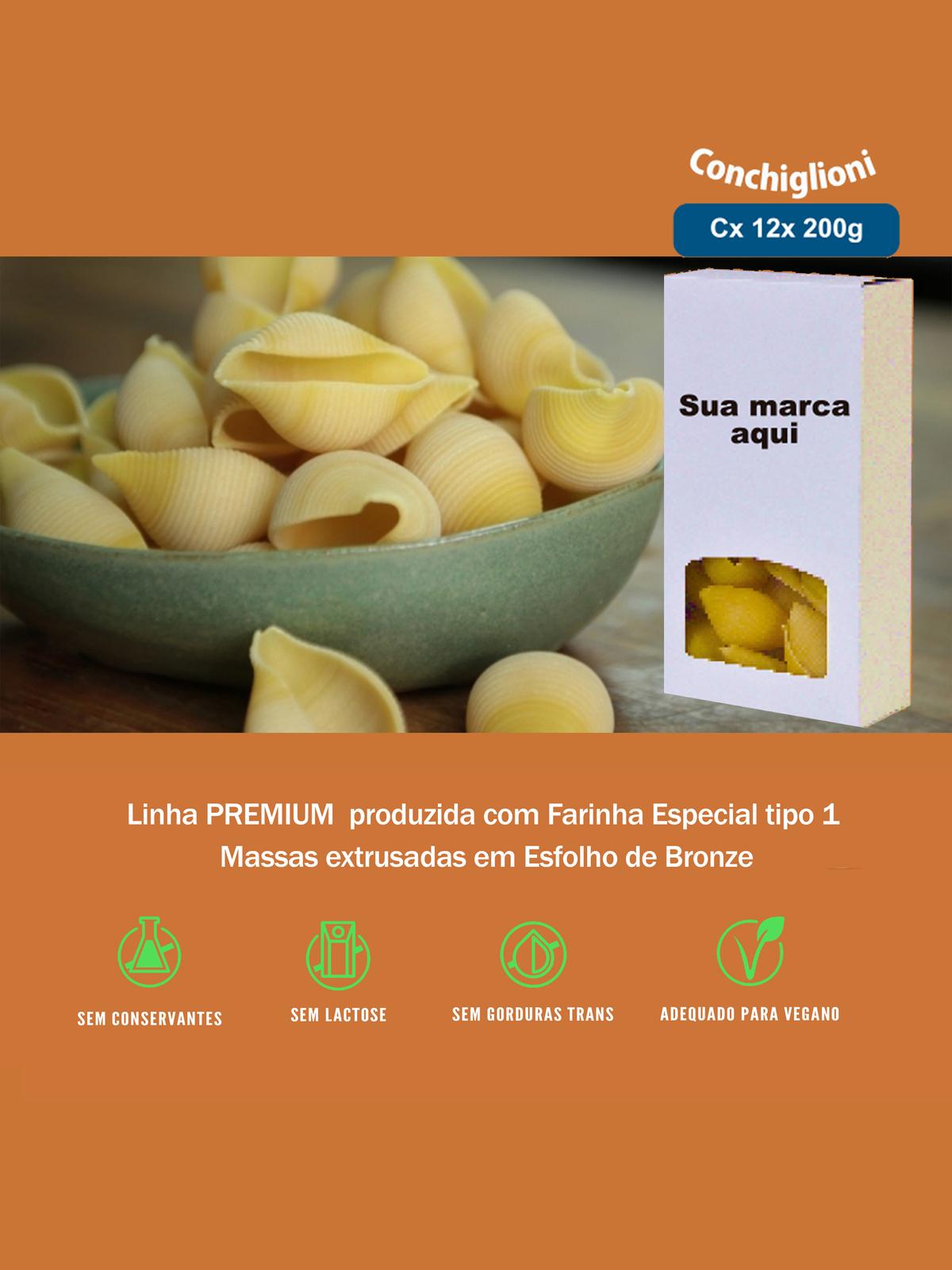 Imagem capa - Conchiglioni Linha Premium por pastificiofasson