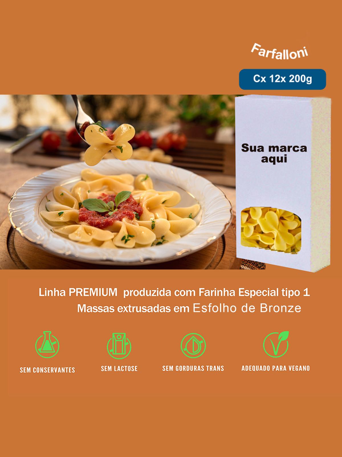 Imagem capa - Farfalloni Linha Premium por pastificiofasson