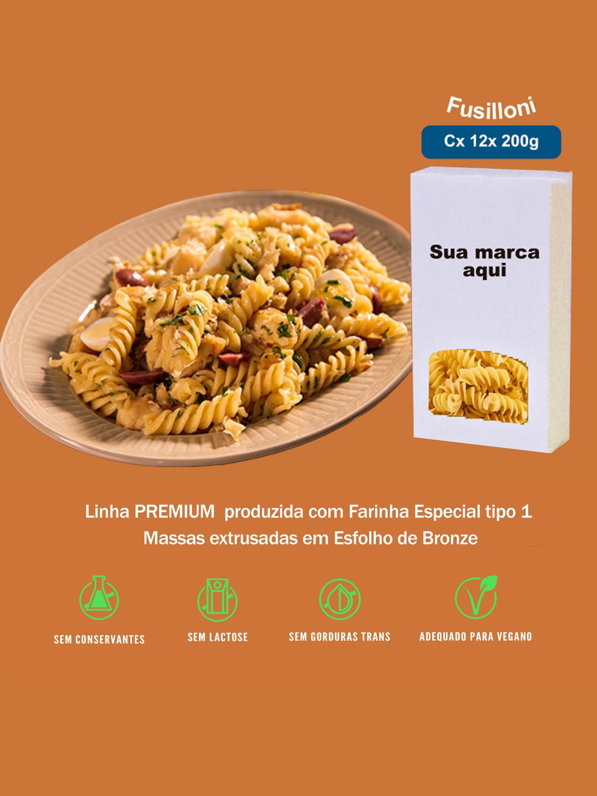 Imagem capa - Fusilloni Linha Premium por pastificiofasson