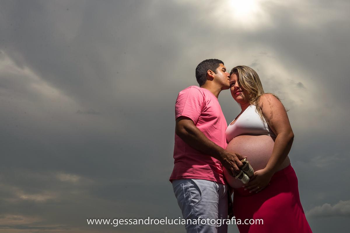 Foto de Vanessa e João Vitor