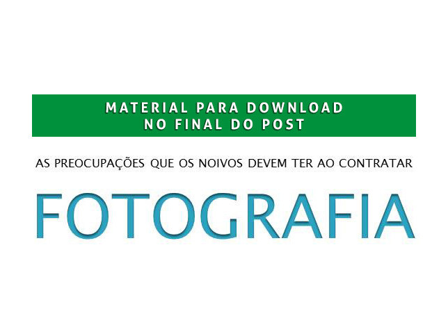 Imagem capa - As principais preocupações que os noivos devem ter ao contratar seu fotógrafo. por Alex Oliveira