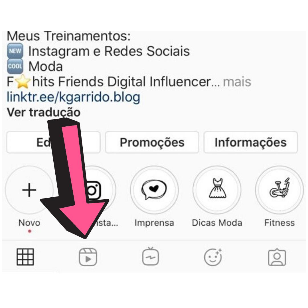 Imagem capa - Reels Instagram por katia  Garrido