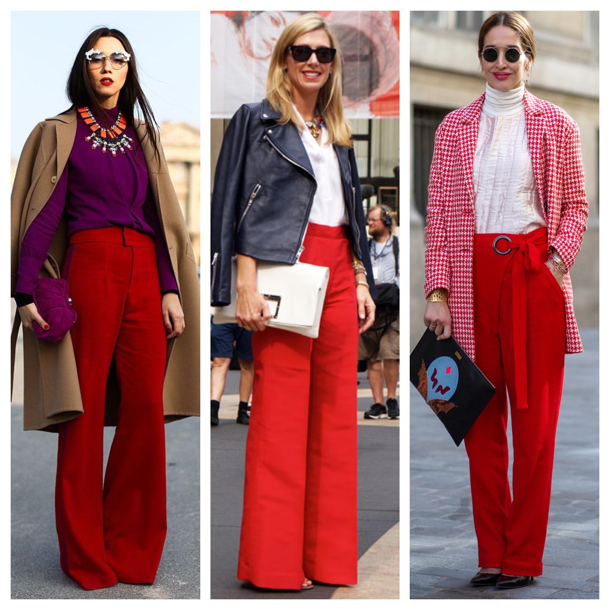 Imagem capa - Inspiração calça vermelha por katia  Garrido