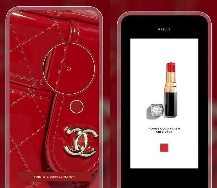 Imagem capa - Aplicativo Chanel Lipscanner por katia  Garrido