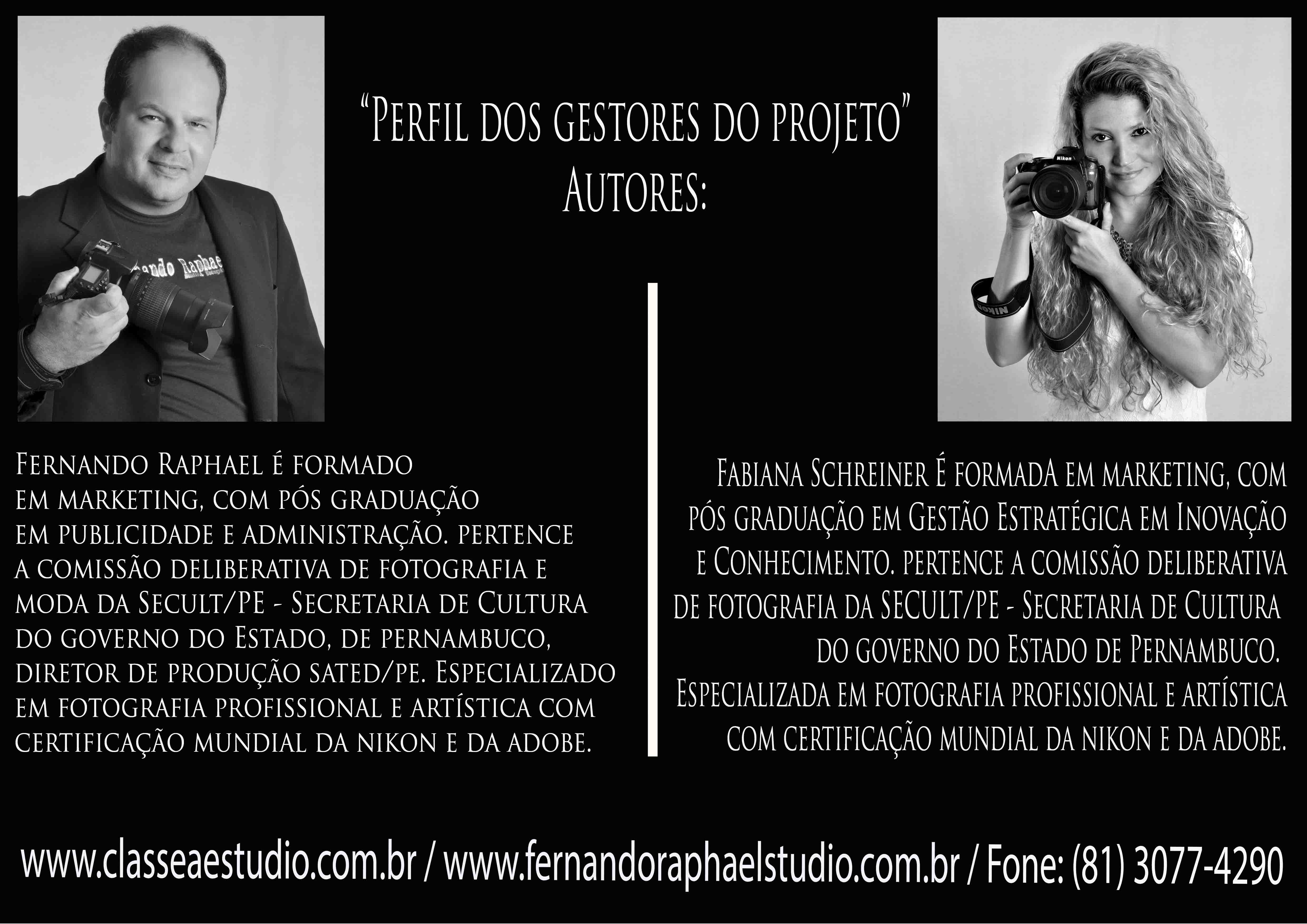 Contate Classe A Estudio - Fotografo de Casamentos, Ensaios Fotograficos, Estudio Fotografico, Recife - PE