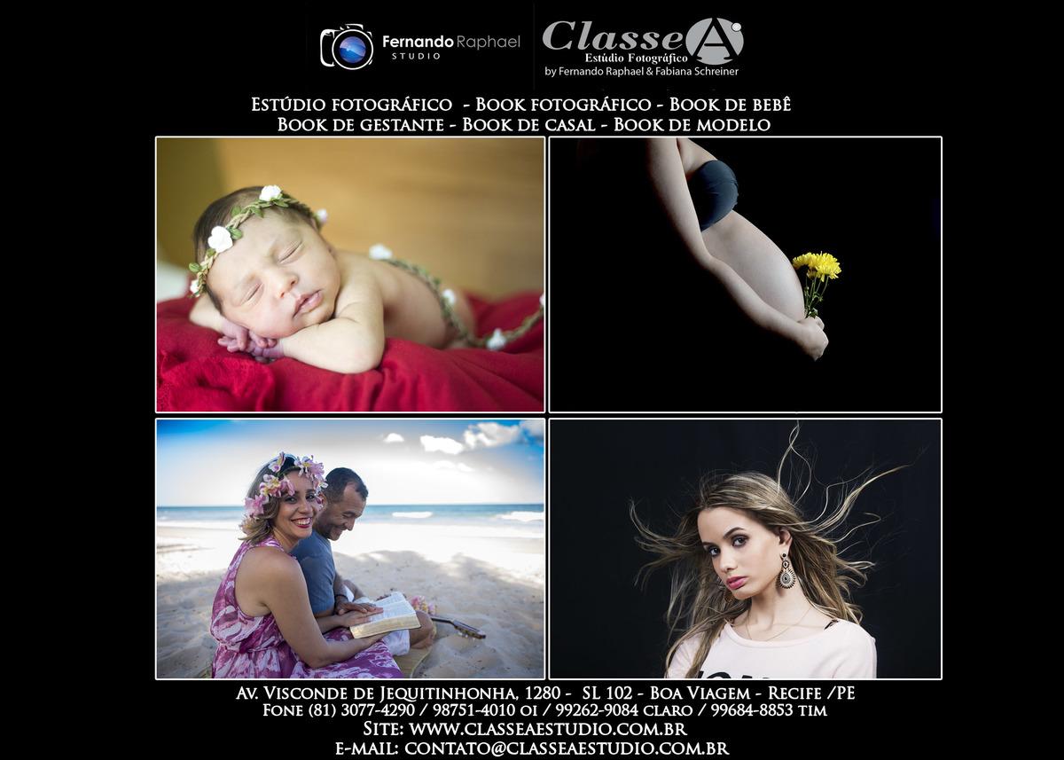 Imagem capa - Agende seu ensaio fotográfico e vídeo profissional em nosso estúdio. por classe a estudio fotografico recife pe