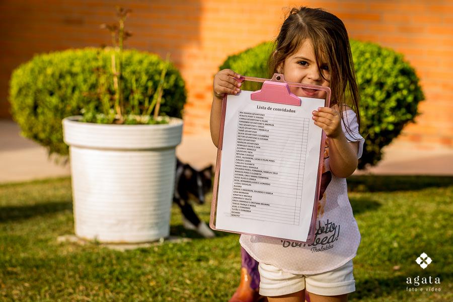 Imagem capa - 4 DICAS IMPORTANTES PARA AJUDAR NA LISTA DE CONVIDADOS por Agata - Foto e Vídeo