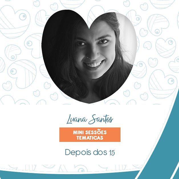 Imagem capa - Luana Santos no Newborn Lovers por Luana