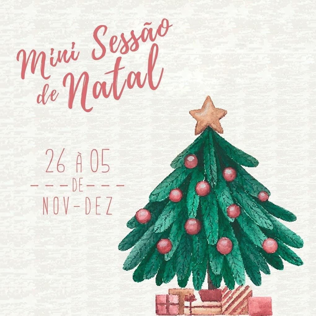 Imagem capa - Mini Ensaio de Natal | 2019 por Patricia Naiany Trigueiros Leal
